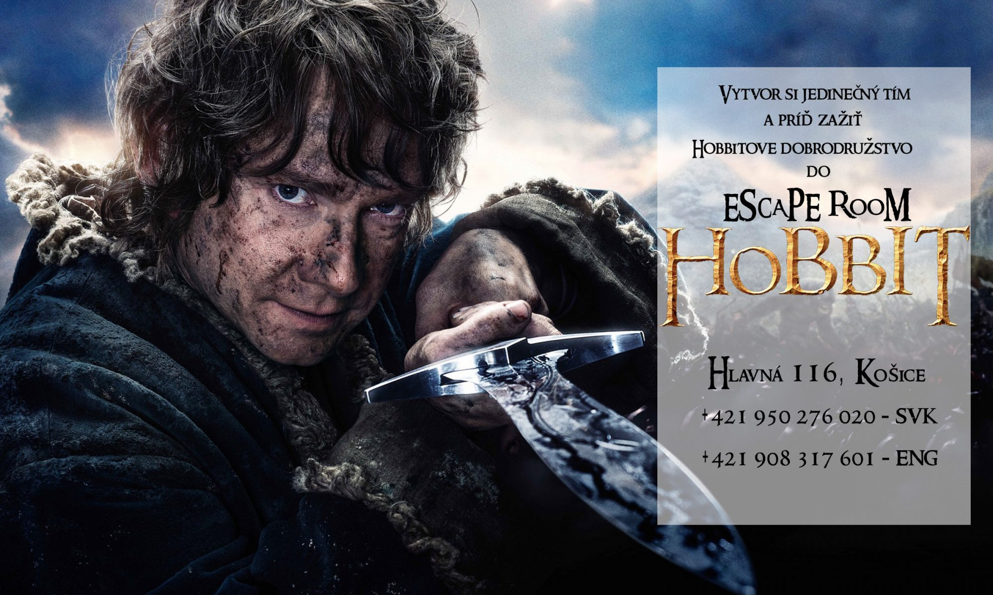 Escape Room Hobbit Košice